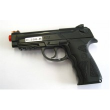 Joy PISTOLA CO2 SOFTAIR TIPO BERETTA M9 ABS